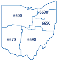 Ohio Districts Map